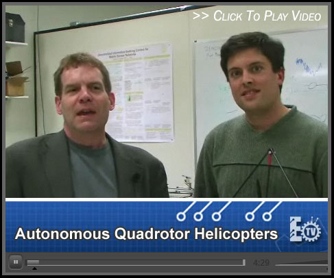 EngineeringTV - Autonomous Quadrotor Helicopters
